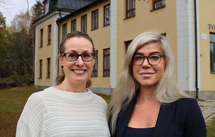 Marina Heiden och Linda Rickardsson