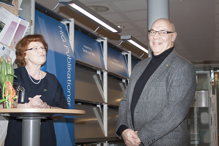 Maivor Hallén och Thomas Nylund
